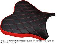 DIAMOND STITCH RED CUSTOM FITS YAMAHA R1 R1M 2015 FRONT SEAT COVER