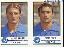 497 BELLERI FUSCO ITALIA EMPOLI.FC STICKER CALCIATORI 2002 PANINI
