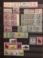 249. Belgische Kolonien: Sammlung Ruanda-Urundi - 1924 bis 1961