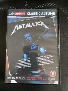 Lick Library Classic Albums Metallica The Black Album