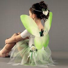 Fata verde Set-Tinkerbell Costume-Vestito da Balletto Danza