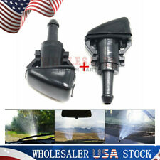 2x 4805742AB For Chrysler Dodge Ram Windshield Washer Water Nozzle Spray Set