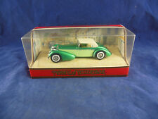 Matchbox Yesteryear Y17 1938 Hispano Suiza In two tone Green & White Hood