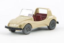 Lot 5248 Wiking VW Buggy offen, mit integriertem Lenkrad, hellbeige, 1978-1980