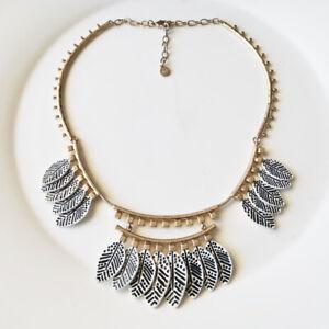 "New 16"" Stella Dot Bib Collar Statement Necklace Gift Retro Women Party Jewelry"