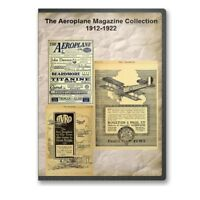 The Aeroplane Magazine Collection 1912-1922 (British Airplane Mag) on DVD - A839
