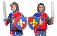 Boys Medieval Knight Crusader Fancy Dress Costume Childrens Book Day Outfit 3-6