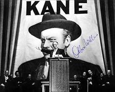ORSON WELLES Legendary Cinema Classic Citizen Kane 8x10 Autographed Photograph