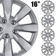 "fits 2013-2019 Nissan Sentra S SV 16"" Wheel Covers Snap On Full Rim Hub Caps R16"