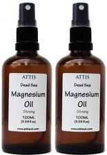 ATTIS Dead Sea Magnesium Oil Spray STRONG | 100ML x 2