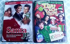 New Lot 2 Santa Jr. & That 70's Show Holiday Edition 10 Episodes Christmas DVDs