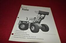 Yale 3000 Loader Guide Dealers Brochure DCPA2