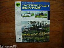 1965 Vintage Art Instruction The Art of Watercolor Painting