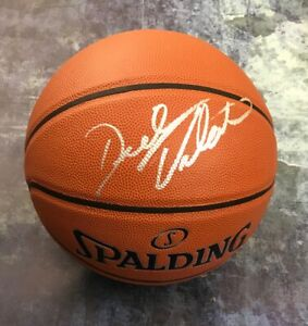 GFA This Is Awesome Baby DICK VITALE Signed Autograph Basketball PROOF COA