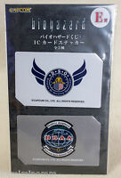 Biohazard Card Type Sticker Set Capcom 3 JAPAN GAME RESIDENT EVIL