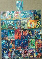 Marvel cards (x - men,Marvel masterpieces,marvel metal,95 flair,95 fleer ultra)