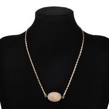New Quartz Stone Pendants Candy Color Shaped Irregular Crystal Pendant Necklace