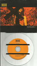 MUSE Sunburn w/ Ashamed UNRELEASED & LIVE TRX Europe CD single USA seller 2000