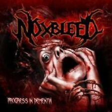 "Noxbleed ""Progress in dementia"" CD [brutalmente death metal like pyrexia Dying Fetus]"