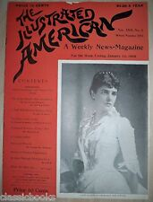 1895 Jan 12th Illustrated American Magazine   MUSEUM FILED  NM-