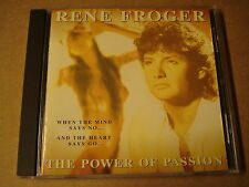 CD / RENE FROGER - THE POWER OF PASSION