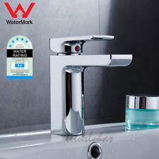 WELS Chrome Basin Tap Bathroom Vanity Mixer Lavatory Counter Water Faucet Taps