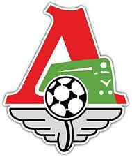 "FC Lokomotiv Moscow Moskva Russia Football Soccer Car Bumper Sticker Decal 4""X5"""