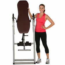 Gravity Inversion Table Fitness Therapy Back Pain Relief Exercise Workout NEW