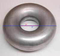 "Mandrel Bend Donut Exhaust Intake Mild Steel Turbo acc. 3.0"" 3.0in 3in 3.00"" 3"