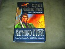 Raymond E. Feist - Rise of a Merchant Prince - 1st Hardcover & Jacket - VG/VG