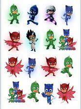 1x PJ Masks Temporary TATTOO Sheet. Superhero Lolly Loot Bag Party Supplies