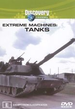 Extreme Machines - Tanks (DVD, 2003) New  Region 4
