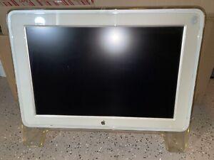 """Vintage Apple Cinema Display 20"""" (Model A1038) Pre-owned Mac Monitor 2003"""