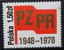 POLAND 1978 Polish Workers' United Party. Set of 1. Mint Never Hinged. SG2585.