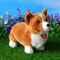 "Corgi dog puppy plush toy stuffed animal kids birthday christmas gift 33cm 13"""