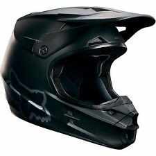 2017 FOX V1 Matte Black Motocross MX/ATV Helmet Adult Medium 15310-255-M