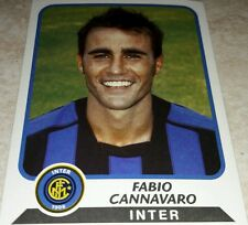 FIGURINA CALCIATORI PANINI 2003-04 INTER CANNAVARO ALBUM 2004