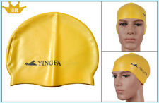 High quality Silicone Swimming Cap with anti-slippery granules- 1 size fit all