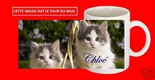 mug tasse céramique chaton chat cat texte prénom personnalisable réf 31