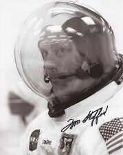 Tom Stafford Apollo ASTP & NASA astronaut Hand signed photo Cert UACC AFTAL