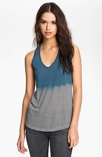 NWT JAMES PERSE Sz4(L/XL)DIP DYE STRIPED TANK SLEEVELESS TEE IN BRUIN