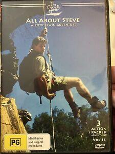 The Crocodile Hunter vol15 All About Steve DVD WV1 Hagiography perhaps a bit sad