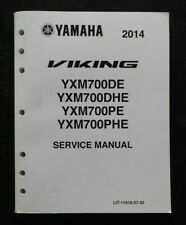 2014 YAMAHA VIKING 700 YXM700 DE DHE PE PHE ATV SERVICE REPAIR MANUAL 400+ page