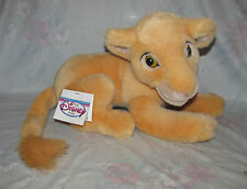 "Disney Lion King Young Nala Plush Stuffed Toy - Disney Store - 13"" Long"