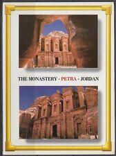 Jordanien Jordan used Post Card Postkarte Landschaft landscape Petra [cm591]