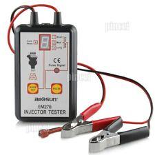 EM276 Fuel Injector Tester 4 Pulse Modes Fuel System Scanner Tool Analyzer