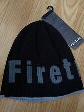 Firetrap New Mens Navy Blue Beanie Hat RRP £14.99