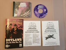 Star Wars PC Game 1994: X-Wing Collector's CD-ROM, Pilot Manual, Reference Card