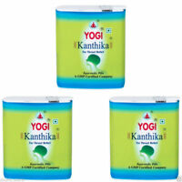 10x Yogi Kanthika Pills for Throat Relief, Ayurvedic Pills Sugar Free +free ship