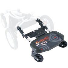 Baby Travel Segboard Stroller Black Ride on Buggy for Mamas & Papas Solo Inca